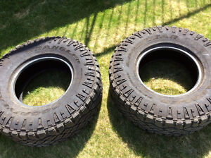 285/75/16 Goodyear Duratracs Tires ( TWO TIRES ONLY ) !