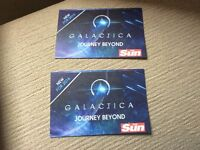 Alton towers tickets x 2 date 08/08/16
