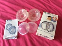 Philips Avent breast shells - used