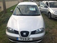 Seat Ibiza diesel for sale.
