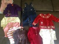 Lot de linge- 49 items - 9-12 mois fille
