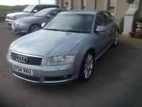2004 Audi A8 4.2 Quattro 4dr