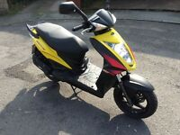 2010 kymco agility rs 50cc moped/scooter not 125cc