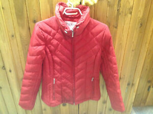 NINE WEST DOWN- WATERFOWL INSULATED JACKET- Small