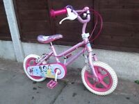 GIRLS BIKE 12inch Wheel