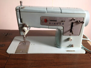 In the table vintage sewing machine