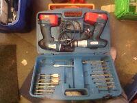 Boschmann 18v twin drill kit