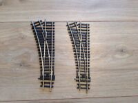 Hornby track oo points. X2 new r 802