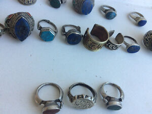 21 unique old rings for  collectors. Not fine jewelry. Handmade Windsor Region Ontario image 3