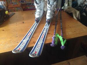 kit ski complet pour jeune ado