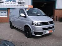 2013 62 VW TRANSPORTER T5 SWB 140BHP 6 SPEED WITH AIR CON AND SPORTLINE PACK!