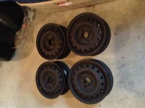Set of 14 inch rims (4x114.3)