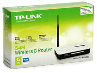 TP-Link 54Mbps 4 port Wireless G Router.