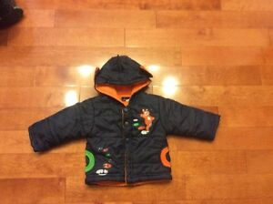 A Tele tubby fall jacket for a 12m