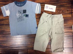 Vêtements garçons 9-12 mois