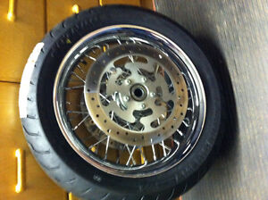 2009 & newer Harley touring wheels & tires c/w ABS