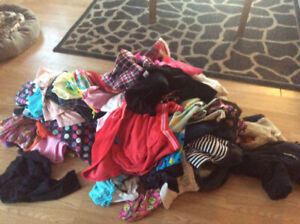 Girl clothing size 4 years