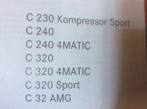 C class Sedan Owners Manual