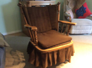 A comfy rocking chair