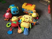 Baby toy bundle fisher price little tikes and others