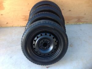 Winter tires and rims $275 obo