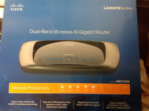 Cisco wireless router modem dual band Internet