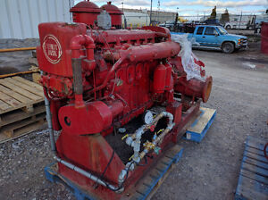 Detroit Diesel with 2000GPM Pump - Low Hours