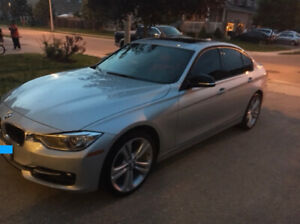 2014 BMW 328 XI LOWKM/NOACCIDENT/RED INTERIOR