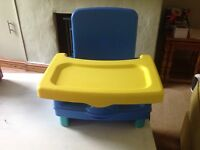 Child/ toddler dining chair booster seat