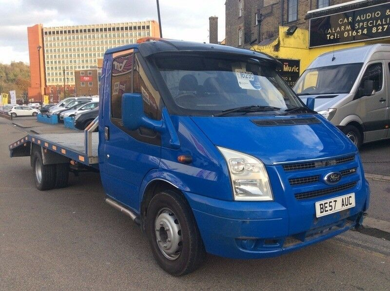 2007 FORD TRANSIT!! NO VAT TO PAY!! RECOVERY TRUCK WITH ALLY BODY!! DRIVING WITHOUT FAULT!!