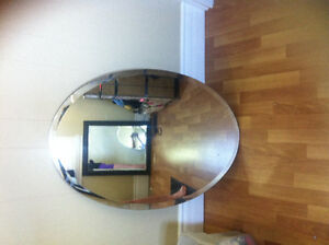 Oval mirror for sale London Ontario image 1