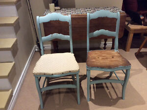 2antique chairs