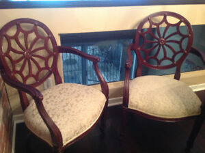 Beautiful pair of  Spider chairs (sold separately)