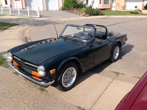 Completely restored 1973 TR-6