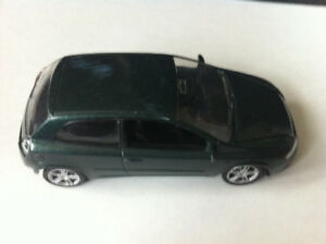 Norev Fiat Stilo Dark Green Die Cast Car