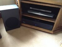 Orbitsound M10LX sound bar and Subwoofer for sale