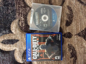Cod Aw and Cod Bo3 for Ps4 London Ontario image 1