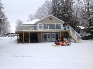 SPECIALS on NOW  for this Winter Wonderland Cottage Rental