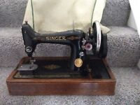 Vintage singer sewing machine collection London Hendon NW4 or Holborn wc2a