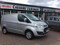 13 REG TRANSIT CUSTOM 2.2 270 LIMITED 155 BHP CHOICE 200 VANS IN STOCK OPEN 7