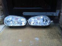 Golf headlights - original front