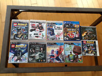 ps3, ps4, pc, and 3ds games