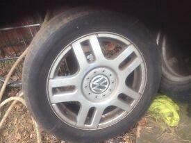 Wheels for a Volkswagen