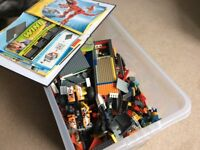 Huge box of Lego with instructions