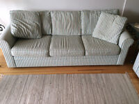 Sofa Bed & Matching Love Seat