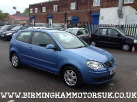 2006 56 Volkswagen Polo 1.4 75 PS S AUTOMATIC 3DR Hatchback BLUE + LOW MILES