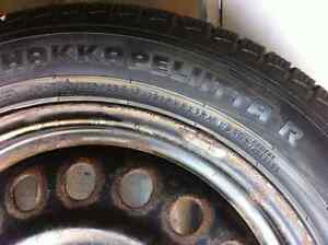 4 Nokian winter tires and rims-excellent condition Strathcona County Edmonton Area image 4