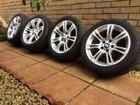 BMW 5 series Msport 18 inch alloys wheels