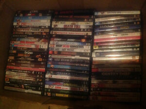 DVDs, Over 150 titles, $1 each or $100 for the lot