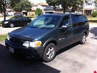 2004 Pontiac Monana - Low KMs, Need Gone Soon